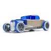Automoblox Hot Rod HR3 mini bleue